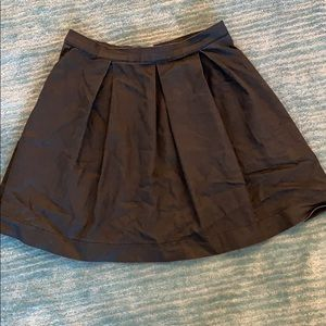 Distressed black French Connection skirt